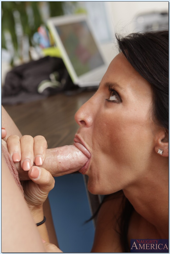 Lezley Zen Sucking A Cock